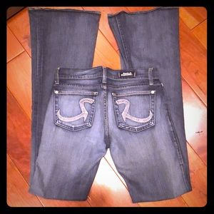 Rock & Republic Roth Jeans - Rhinestone - 27